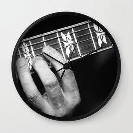 Guitar Hand Wall Clock