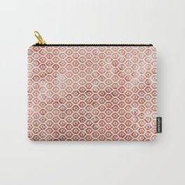 Mandarin Trellis Pattern Carry-All Pouch