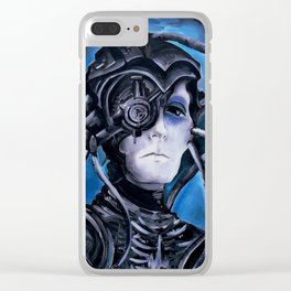 Borg Drone Clear iPhone Case