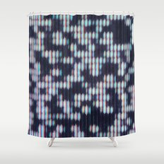 Painted Attenuation 1.2.3 Shower Curtain