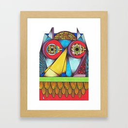 I Can See Your House From Here Framed Art Print
