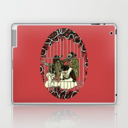 Crow Serie :: At The Balcony (after Goya) Laptop & iPad Skin