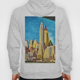 Old New York from under the Brooklyn Bridge Hoody