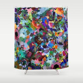 Wild and Wonderful Wildflowers Shower Curtain