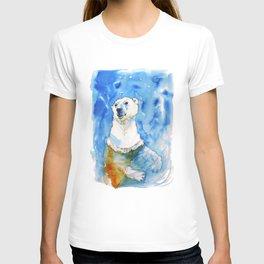 Polar Bear Inside Water T-shirt