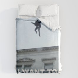 I Want to Believe in Sherlock Holmes Duvet Cover