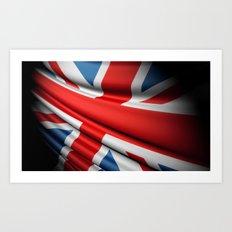 Flag of Great Britain Art Print