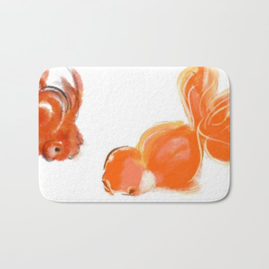 goldfish 1 Bath Mat