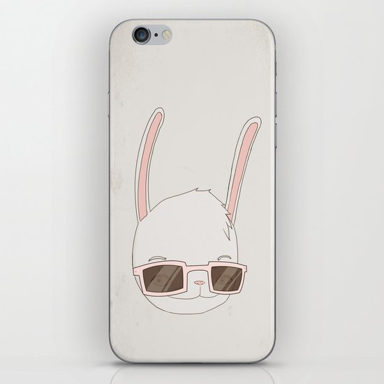 빠숑토끼 fashiong tokki iPhone & iPod Skin