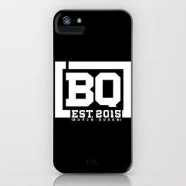 New BQ Initials-white iPhone Case