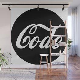 Coca Code Wall Mural