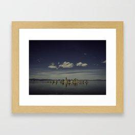 Mono Lake Reflection Framed Art Print