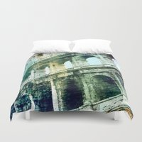 rome Duvet Covers featuring Rome by Shannyn DeArment-Howard