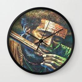 Irian People Wall Clock