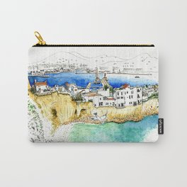 Ibiza old town end by the lighthouse Carry-All Pouch