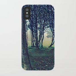 Trees in Golden Gate Park iPhone Case