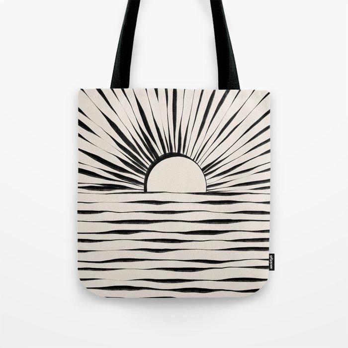 Minimal Sunrise / Sunset Tote Bag