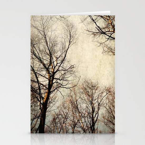 paint the sky with branches Stationery Cards