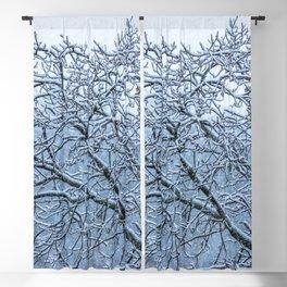 It's snowing Blackout Curtain