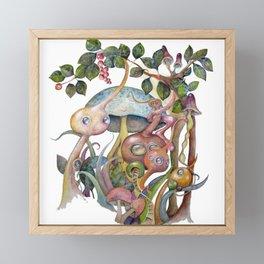 Enchanted forest Framed Mini Art Print