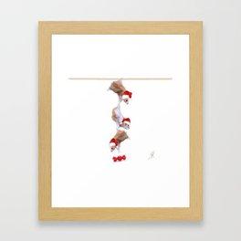 Christmas Team Framed Art Print