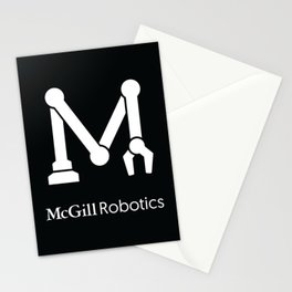 White Logo w/ Title Stationery Cards