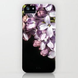 Lilac Bouquet Triptych One iPhone Case