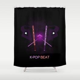 K-POP Beat Shower Curtain