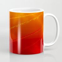 mars Mugs featuring Mars by renajoy