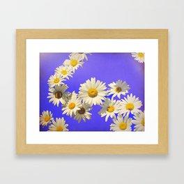 Daisy Chain Flower Art Framed Art Print