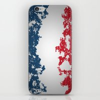 france iPhone & iPod Skins featuring France by Flat Design