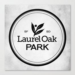 Laurel Oak Park Canvas Print