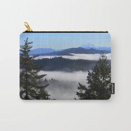 Bird's eye view of Mount Lassen.... Carry-All Pouch