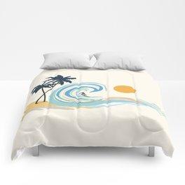 Minimalistic Summer II Comforters