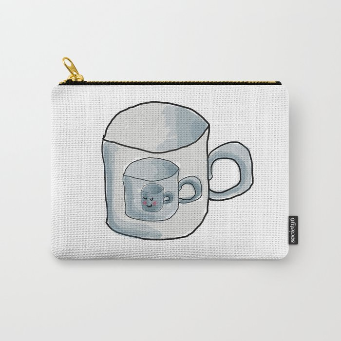 Cute Cup of coffee Carry-All Pouch