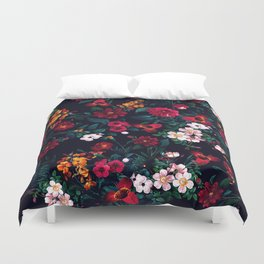 The Midnight Garden Duvet Cover