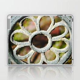 Metalic Flower Laptop & iPad Skin