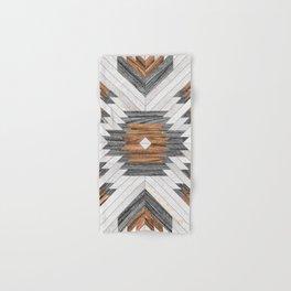 Urban Tribal Pattern No.8 - Aztec - Wood Hand & Bath Towel