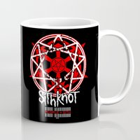 sith Mugs featuring Sithknot (People=Sith) by Ant Atomic