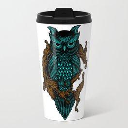 Owl illustration Travel Mug