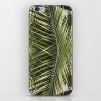 palm trees iPhone & iPod Skins featuring palm trees by iulia pironea