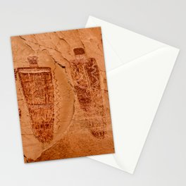 Horseshoe Canyon Great Gallery Group 2 Pictographs Stationery Cards