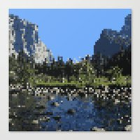 8 bit Canvas Prints featuring 8-bit by Stakers