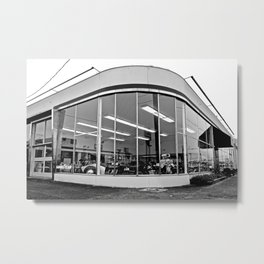 Streamlined corner Metal Print