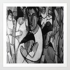 Artistic People Art Print