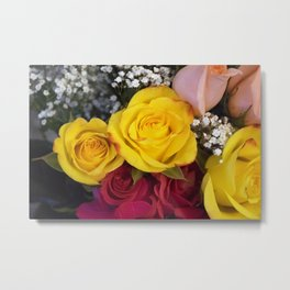 Valentine's Day Roses 8 Metal Print