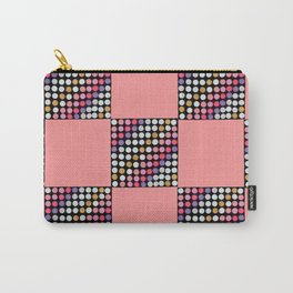 Checker Disco Carry-All Pouch