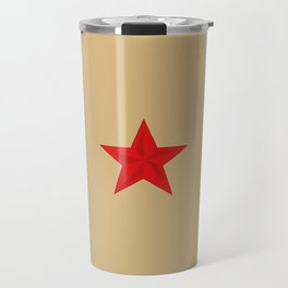 Red Star Communist Travel Mug