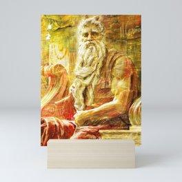 Michelangelo Moses drawing Mini Art Print
