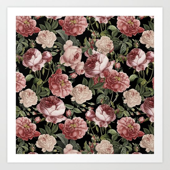 Vintage & Shabby Chic - Lush Victorian Roses by vintage_love